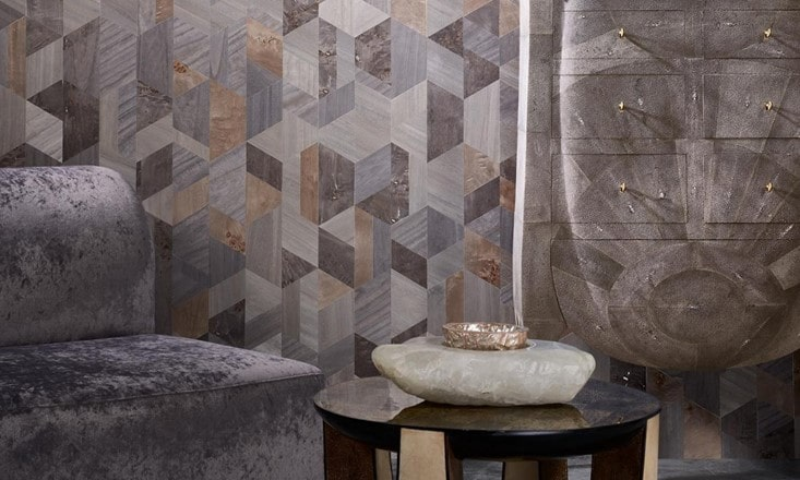 eco-friendly wallcovering with natural variation